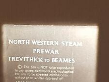 NORTHWEST STEAM TEVITHICK BEAMES SUPER 8 B/W SILENT 100FT CINE 8MM FILM TRAIN