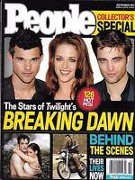 Twilight Breaking Dawn People Magazine Special Robert Pattinson Kristen Stewart