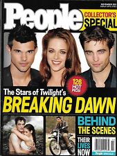 People magazine Twilight Breaking Dawn special Robert Pattinson Kristen Stewart