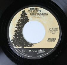 Rock 45 Dan Fogelberg - Hearts And Crafts / Missing You On Epic Records
