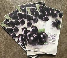 Nature Republic Acai Berry Sheet Masks - 5 Piece Mask Lot