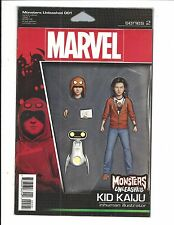 MONSTERS UNLEASHED # 1 (Series 2, ACTION FIGURE VARIANT, JUNE 2017)