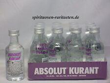 ABSOLUT Vodka Kurant 12x 50 ML. 40% 80 PROOF VODKA (0,6 L.)