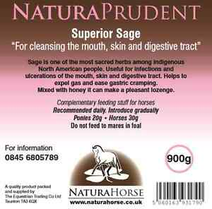 NaturaHorse Sage , Cleansing, Infections, Ulcers, Gastric 2.7kg