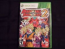 Replacement Case (NO GAME) DRAGON BALL RAGING BLAST 2  XBOX 360