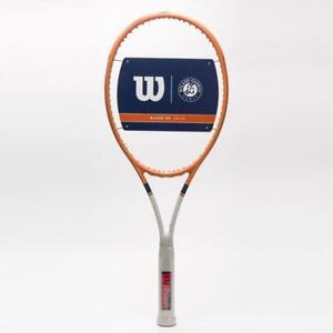 "Wilson Blade 98 16x19 v7 Roland Garros 4 1/2"" Limited Edition Unstrung Brand New"