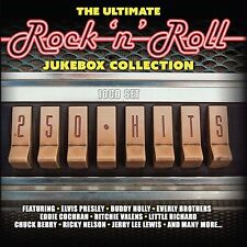 Rock N Roll 10 CDs 250 Hits The Ultimate Jukebox Collection of 50s 60s Music