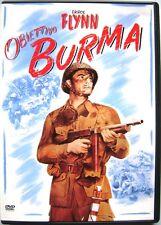 Dvd Obiettivo Burma di Raoul Walsh 1945 Usato raro fuori cat.