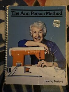 The Ann Person Method Sewing Book 1