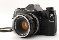 [NEAR MINT++] Canon AE-1 35mm SLR Film Camera Black w/50mm F/1.8 lens from JAPAN