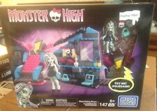 Monster High Mega Bloks Frankie Stein's Electrifying Room 147 Pieces NIP