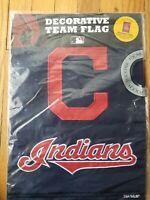 "Cleveland Indians Baseball MLB decorative outdoor garden flag  2sided 18"" x 13"""