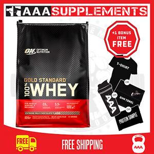 Optimum Nutrition Gold Standard Whey | 4.5kg Protein Supplement WPI Gym Fitness