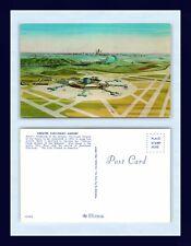 AVIATION OHIO CINCINNATI AIRPORT ARTIST RENDITION NEW FACILITY SLATED FOR 1974