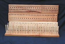 600mm (2') Beech Peg loom, 3 gauge, 3 row, crafted North Yorkshire hardwood