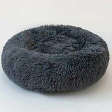 Calming Dog Cat Bed Round Super Soft Plush Pet Bed Marshmallow Pet Nest GN