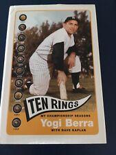 Ten Rings : My Championship Seasons by Yogi Berra and Dave Kaplan (2003,...