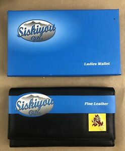Arizona Sun Devils Womens Black Leather Wallet NCAA Licensed Product Gift