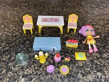 Moose Disney Shopkins Happy Places Princess Belle Dining Room Theme Pack Doll+