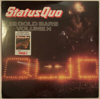 STATUS QUO 12 GOLD BARS VOLUME I + II 2 LP VERTIGO UK 1984 NEAR MINT PRO CLEANED