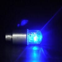 2X LED Fahrrad Radfahren Neon Auto Rad Reifen Ventilkappen Rad Beleuchtung E2Q0