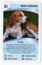 Dogs - Single German Trade Card Beagle Hunting Dog