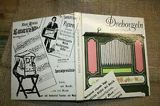 Sammlerbuch alte Drehorgel  Leierkasten  Orgel  Orgelbau Orgelspiel, DDR 1978