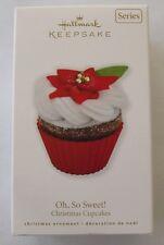 Hallmark 2010 Oh So Sweet Christmas Cupcakes #1 Series Baking Keepsake Ornament