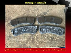 Carbon Brake Pads for Motorsport 4 - 5mm of Material