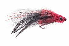 Fly Fishing Flies (Tarpon, Snook, Redfish, Bass) Tarpon Tantrum Red Black (6)