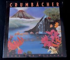 CRUMBACHER-TAME THE VOLCANO-NEW WAVE-SYNTH-POP-CHRISTIAN-1988-SEALED LP