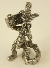 Pewter Punk Dragon - Steampunk - Mohican - 7cm tall - will stand on shelf