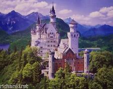 "Jigsaw puzzle International Neuschwanstein Castle Bavaria 1000 piece NIB 18""x23"""