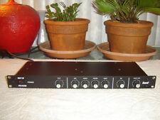 KMD REV 19 Reverb, Spring Reverb with 4 Band Equalizer, Vintage Rack
