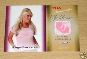 Tristar TNA Knockouts Memorabilia Angelina Love 122/175