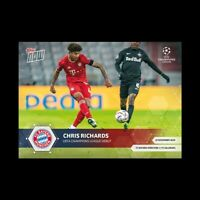 2020 UCL Topps Now card #24 UEFA Champions League CHRIS RICHARDS BAYERN MUNCHEN