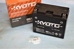 Batterie KYOTO SLA YT12B-BS 12V 10AH pour moto scooter neuf