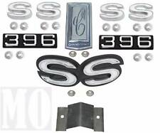 1970 Camaro SS 396 Emblem Kit For Cars With Rear Spoiler