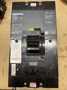 Square D Circuit Breaker LAL363501037 , 350 Amp , 600 Vac Shunt Trip 277v