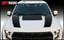 Ford Raptor SVT F150 Hood Vinyl Graphics Decals 2017 2018 2019 with Install Kit!