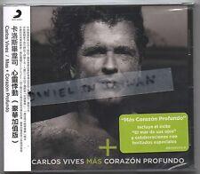 Carlos Vives: Mas + Corazon Profundo (2014) CD OBI TAIWAN