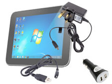 Complete Travel Charger Kit For Lenovo A300, A1000 & S6000 Tablet With UK Plug