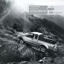Preisliste Nissan NP300 Pick Up 2011 Autopreisliste 1.5.11 Preise Auto Pkw price