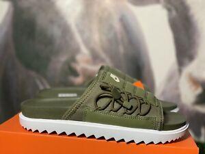 Nike Asuna 'Cargo Khaki' Slides, Size 7/8.5(W)