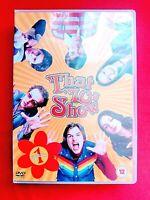 THAT 70'S SHOW - SEASON 1 - DVD - ( 4 DISC ) - ASHTON KUTCHER - 2005