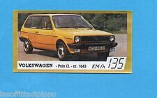 GOLDEN CAR-BAGGIOLI 1985-Figurina n.141- VOLKSWAGEN POLO CL -Rec