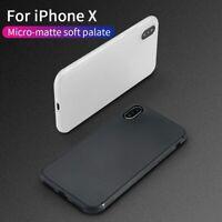 TPU Scrub Phone Case Cover for iPhone X/XS/XR/XSMAX/6Plus/6sPlus/7/8/7Plus/8Plus