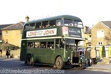 London Country RT2722 LYR706 6x4 Bus Photo ref L30