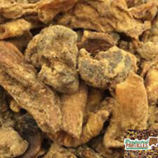15Kg Dried Meat Greaves Medium Terrier Grade 100% Natural Beef High in Protein