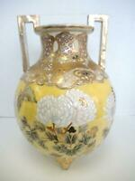 "Outstanding Imperial Satsuma Ball 13 1/2"" Tall Vase"